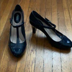 Navy Blue Giani Bernini heels